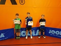 Tomáš 3.místo v turnaji B